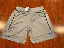 2014-15 Puma Men's Newcastle United Away Player Issue Soccer Jersey Shorts XL