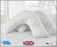 Luxury Bamboo V Shaped Memory Foam Pillow + Free Pillow Case **Special Offer**