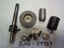 65 SUZUKI B100 B105P KT120 KICK START SHAFT ASSY