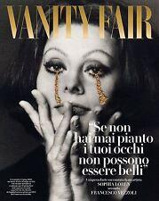 Vanity Fair Magazine Italia Italy Sophia Loren NEW