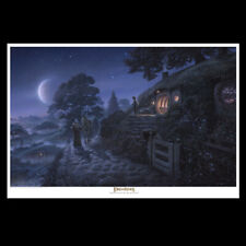 Lotr Weta Bag-end Expect Me When You See Me Paper Giclee VanderStelt Le 176/2000