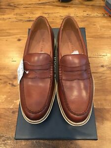 Cole Haan Original Grand Penny Loafers - Saddle Brown Mens Size 7