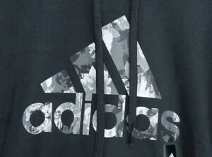 New Adidas Womens Sport Logo Hoodie Pullover Sweatshirt Fleece Hoodie XS - 2XL