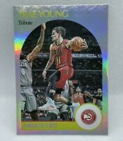 Trae Young 2020-21 Panini NBA Hoops SP 1990-91 Tribute Foil Insert #258