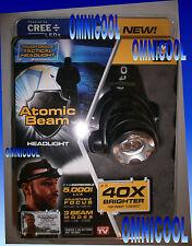 GENUINE Atomic Beam Headlight, Tough Grade Tactical Headlight, Lifetime Warranty