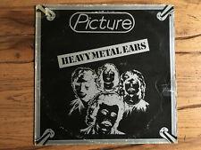 PICTURE heavy metal ears (1982) Lp originale Italia F1Team LP3358 RARISSIMO