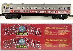 Pair of K-Line K4583-0132 Ringling Bros Barnum & Bailey Circus Passenger Cars