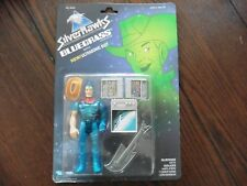 RARE Silverhawks BLUEGRASS with ULTRASONIC SUIT on card
