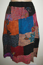New Gringo Embroidered Skirt S M 8 10 - Hippy Fair Trade Hippie Gypsy Boho