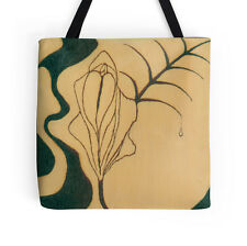 TOTE BAG w/Exclusive Solar Etched Design ~ 'Little Girl Lost' ~ Classy Chic