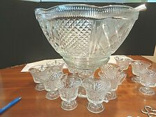 Kent Crystal by Colony Early 1900's 27 pieces