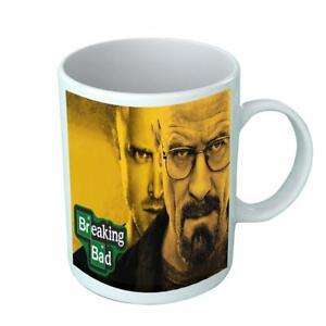 breaking bad Drinking Funny Birthday Ceramic White Mug Present Coffee Tea Cup