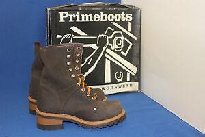 Prime Boots logger  worker stiefel gr. 38  leder    fashion