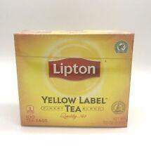 Lipton Yellow Label Tea, Finest Blend, Black Tea, 100 Tea Bags Net. 7oz (200g)