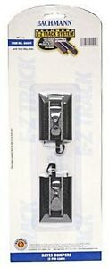 HO Scale HAYES BUMPER E-Z Track 2 Pieces Bachmann New in Sealed Pkg 44491