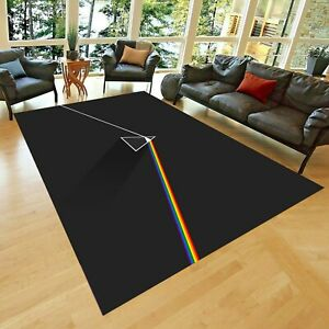 Pink Floyd 3 Rug,  Non Slip Floor Carpet,Teen's Carpet,Area Rug
