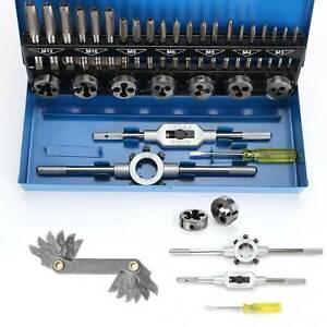32 Tlg Gewindeschneid Satz Fein Gewinde Schneider Bohrer Werkzeug Set M3-M12