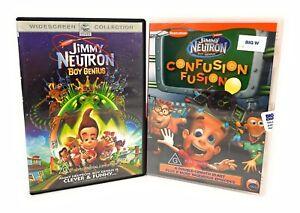 The Adventures of Jimmy Neutron Boy Genius & Confusion Fusion DVD Region 4