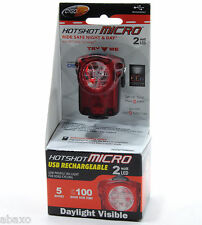 CygoLite Hotshot MICRO 2 Watt LED USB Rechargeable Bike Tail Light