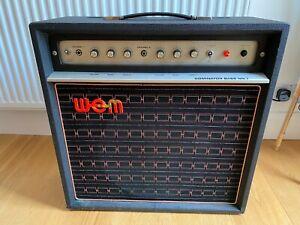WEM Watkins Dominator Mk 1 Bass Guitar Amplifier Original 1970s Vintage Working