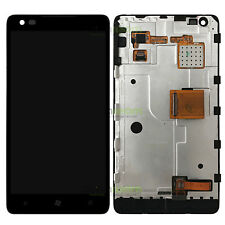 For Nokia Lumia 900 Full LCD Display Screen Touch Digitizer Assembly with Frame
