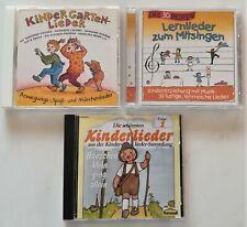 3 CDs Kinderlieder