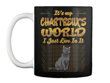Its My Chartreux World I Just Live In It Gift Coffee Mug