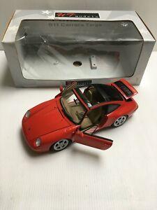 UT Models 27821 Porsche 911 Carrera Targa (993) Rouge 1/18 Voiture Miniature