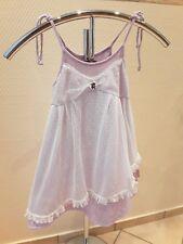 Toff Togs Mädchen Design Sommer Kleid Gr. 116 Lavendel Serie mit Spitze + Rüsche