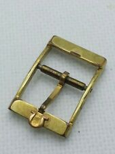 OMEGA DYNAMIC 14MM YELLOW GOLD PLATED WATCH BUCKLE vintage antique