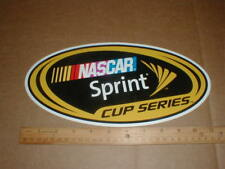 Official Race Car Nascar Sprint Cup Series contingency racing decal sticker 11""