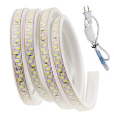 110V 120V led strip 5730 180leds/m waterproof Flex rope light 5630 Warm white