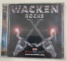WACKEN ROCKS - VARIOUS ARTISTS - VERY GOOD CONDITION 2 DISC SET SPV 2011