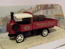 MATCHBOX MODELS OF YESTERYEAR 1917 YORKSHIRE STEAM WAGON SAMUEL SMITH 1/61 Y32