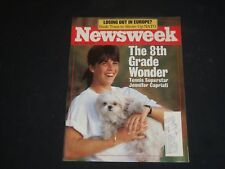 1990 MAY 14 NEWSWEEK MAGAZINE - JENNIFER CAPRIATI - NW 423