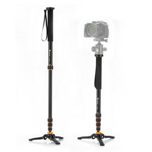 Professional 165cm Aluminum Alloy Video Camera Tripod with Carry Case for Canon