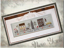 10% Off Country Cottage Needleworks Counted X-stitch chart-Afternoon In New York