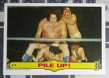 Andre the Giant WWF 1985 Topps Card #50 WWE Pro Wrestling Wrestlemania 3 Legend