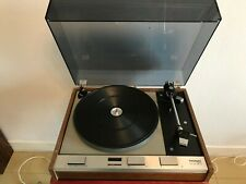 THORENS TD125 MKll 3-Speed Belt-Drive Suspended Chassis Turntable Tourne-disques