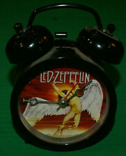 Led Zeppelin Alarm Clock Old Fasioned Dual Bell Style Functional Lightly Used