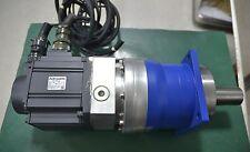MITSUBISHI HC-SFS102 SERVO MOTOR / ALPHA SP140S-MF2-40-0G1-2S 40:1