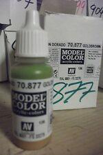 modello Hobby Pittura 17ml BOTTIGLIA val877 AV Vallejo Model Color - GoldBrown