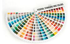 FEDERAL STANDARD 595C Color Fan Deck. Latest Version, contains 650 colours