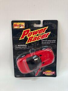 Vintage Sealed 1996 Maisto Power Racer 1:32 Red Dodge Viper RT/10 Car