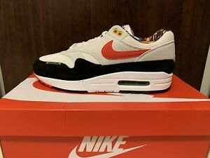 Nike Air Max 1 Live Together Play Together White DC1478-100 Size 10 NEW DS