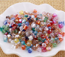 Wholesale 100/200/500 PCS 4mm 5301# Jewelry crystal Loose DIY bicone Beads