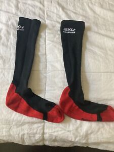 2xu Custom Running Compression Socks Size Medium M