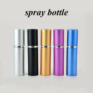 5/8ml Travel Portable Refillable Perfume Atomizer Empty Bottle Scent Pump Spray