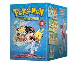 Pokémon Adventures Red & Blue Box Set (set includes Vol. 1-7) by Hidenori Kusaka (2012, Paperback)