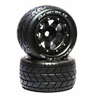 """Duratrax Bandito MT Belt 2.8"""" Mounted Front/Rear Tires .5 Offset 17mm Black (2)"""